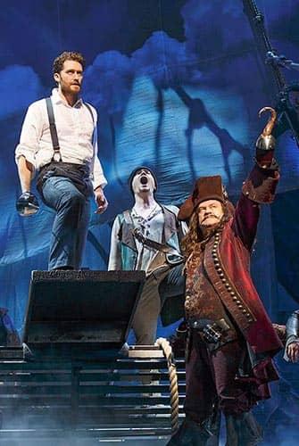 Finding Neverland on Broadway - Captain Hook
