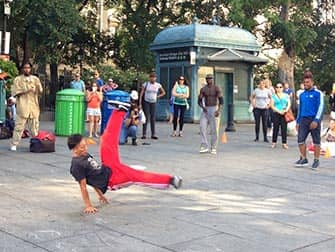Hip Hop in the streets of New York