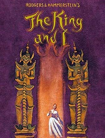 The King and I on Broadway - Poster