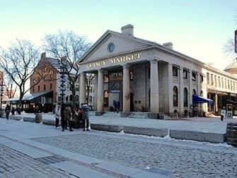 Day Trip to Boston - Quincy Market