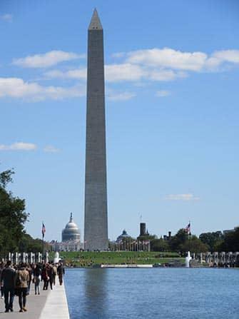 Washington DC Train Trip - Monument