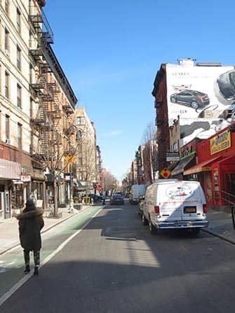 Lower East Side in NYC - Street
