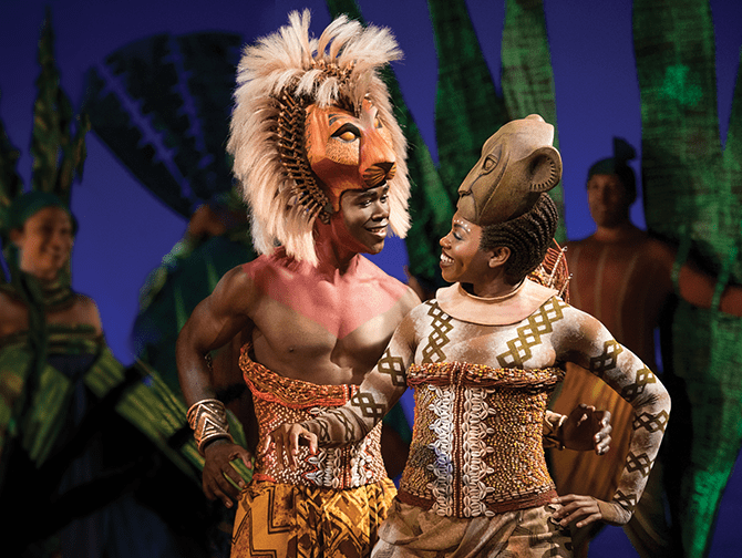 The Lion King on Broadway Tickets - Simba and Nala