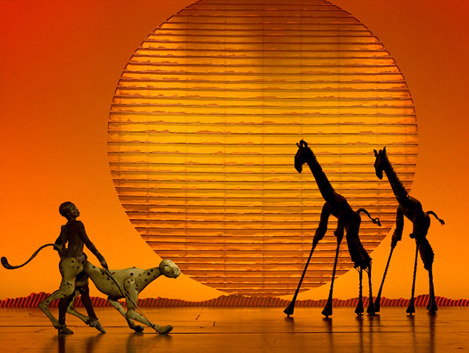The Lion King on Broadway Tickets - Stage