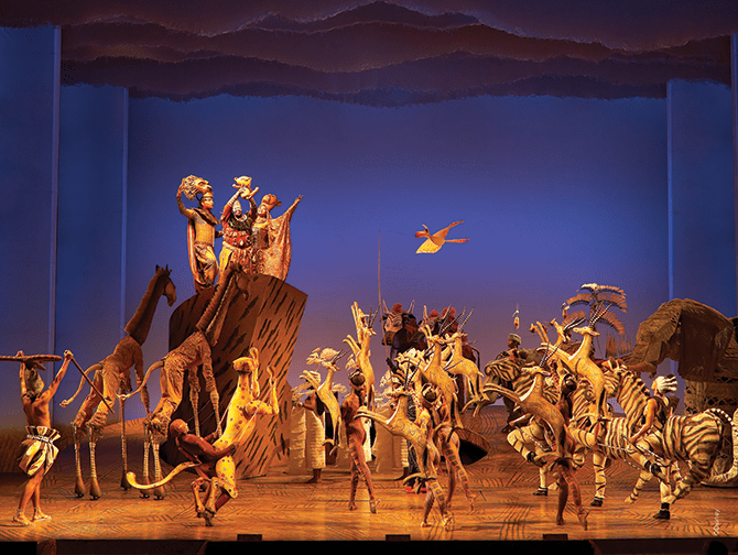The Lion King on Broadway Tickets - The Circle of Life