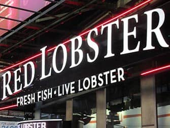 Dining with kids in NYC - Red Lobster