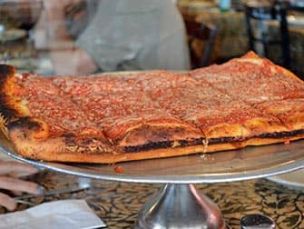 Pizza Tour in NYC - Spumoni Gardens Pizza