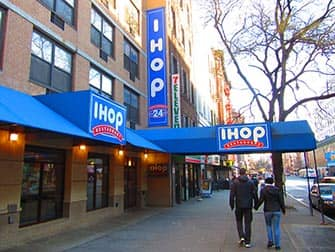 Typical American Food in NYC - IHOP