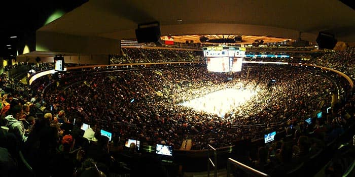 Madison Square Garden in NYC - Interior