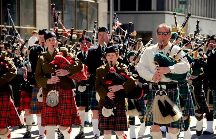 Tartan Day in New York - Scottish Tartan Day Parade