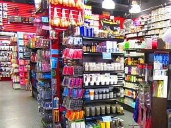 Make-up in New York - Rickys NYC interior