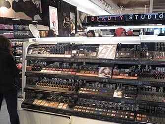Make-up in New York - Sephora interior