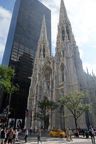 St Patricks Cathedral in New York- Cathedral on Fifth Avenue