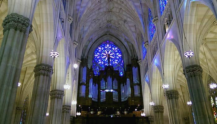 St Patricks Cathedral in New York- Interior