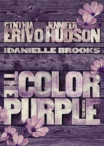 The Color Purple op Broadway - Poster