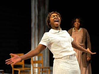 The Color Purple op Broadway - Show in New York