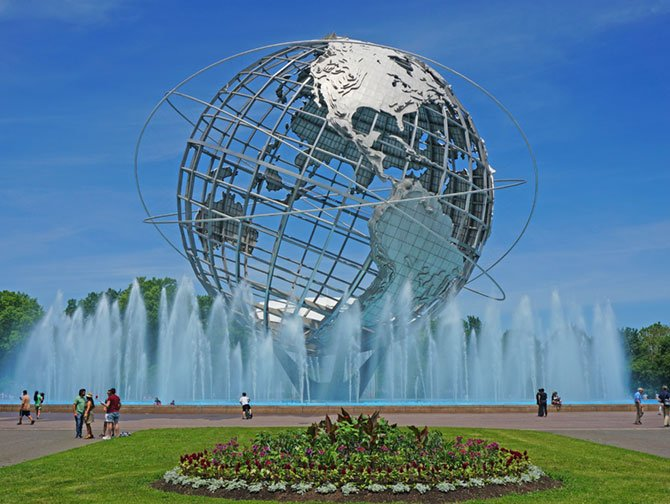 Brooklyn, Queens and The Bronx Tour - Unisphere