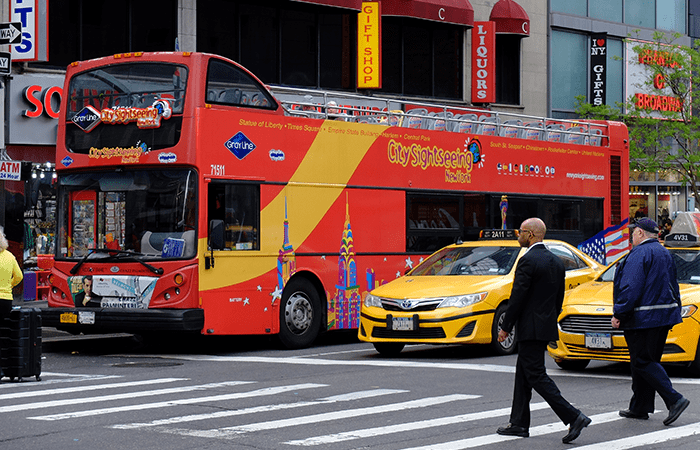 CitySightseeing Hop on Hop off Bus in New York - The Bus