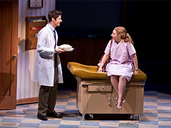 Waitress on Broadway Tickets - At the doctor
