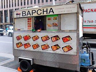 New York Food Cart Tour - Bapcha