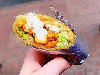 New York Food Cart Tour - Indian