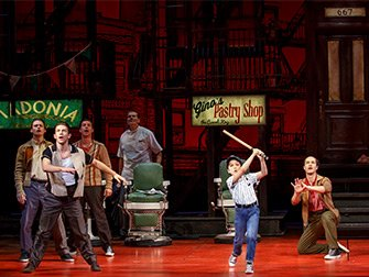 A Bronx Tale on Broadway Tickets - Baseball
