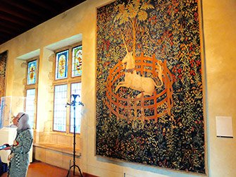 The Met Cloisters in New York - Tapestry