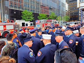 911 in New York - Firefighters