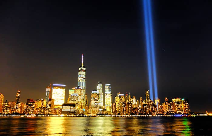 911 in New York - Tribute in Light