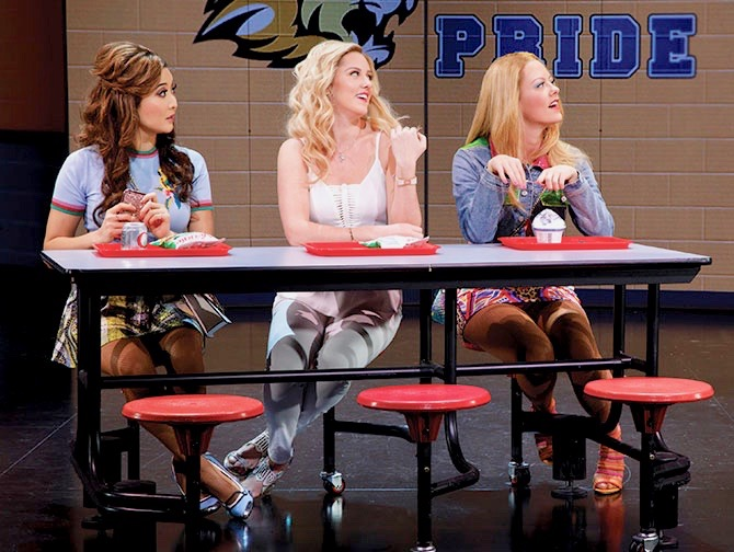 Mean Girls on Broadway Tickets - Having Lunch