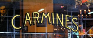 Carmine's Family Restaurant in New York
