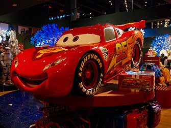 Disney Store on Times Square - Cars
