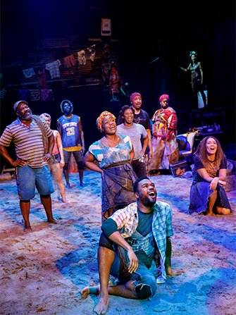 Once On This Island on Broadway Tickets - Cast
