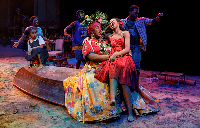 Once On This Island on Broadway Tickets - Ti Moune Singing