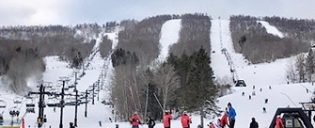 Ski or Snowboard Day trip in New York