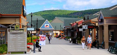 Outlet shopping at Woodbury Common