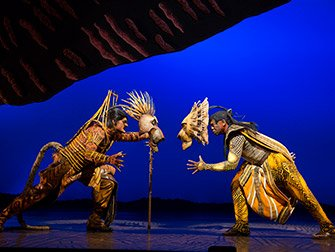The Lion King on Broadway Tickets - Battle