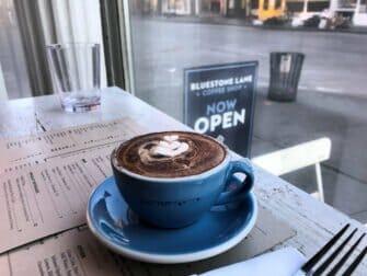 Australian Restaurants and Cafes in New York - Bluestone Lane coffee