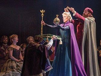 Frozen on Broadway Tickets - coronation