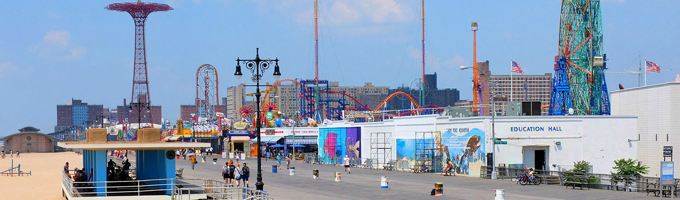 Summer in the city: Coney Island