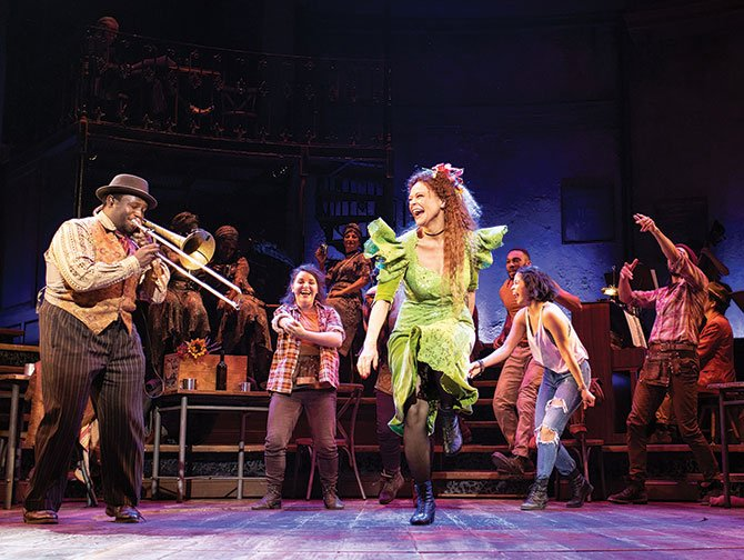 Hadestown on Broadway Tickets - Dancing