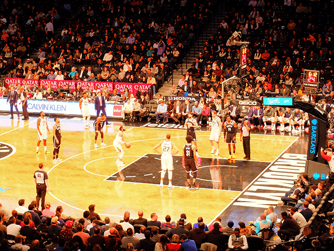 Schedule Sports Games in New York - Brooklyn Nets