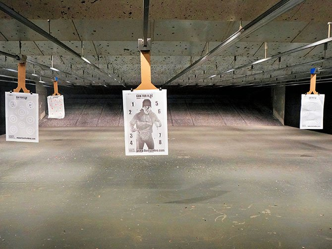 Shooting Range in New York - The Target